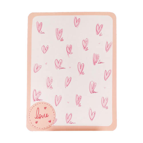 کارت پستال دست ساز آبی عمیق مدل Love3