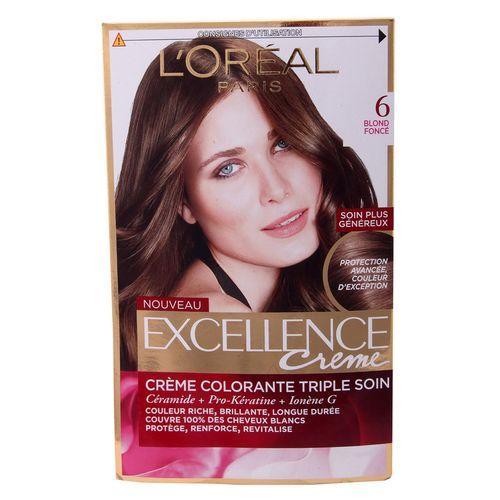 کیت رنگ مو لورآل شماره 6 Excellence