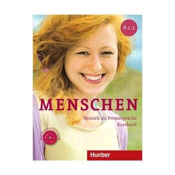 کتاب زبان آلمانی Menschen A1.1اثر جمعی از نویسندگان انتشارات Hueber