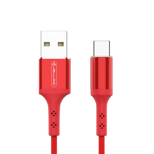 کابل تبدیل USB به USB-C جلیکو مدل kds-70 طول 1.2 متر