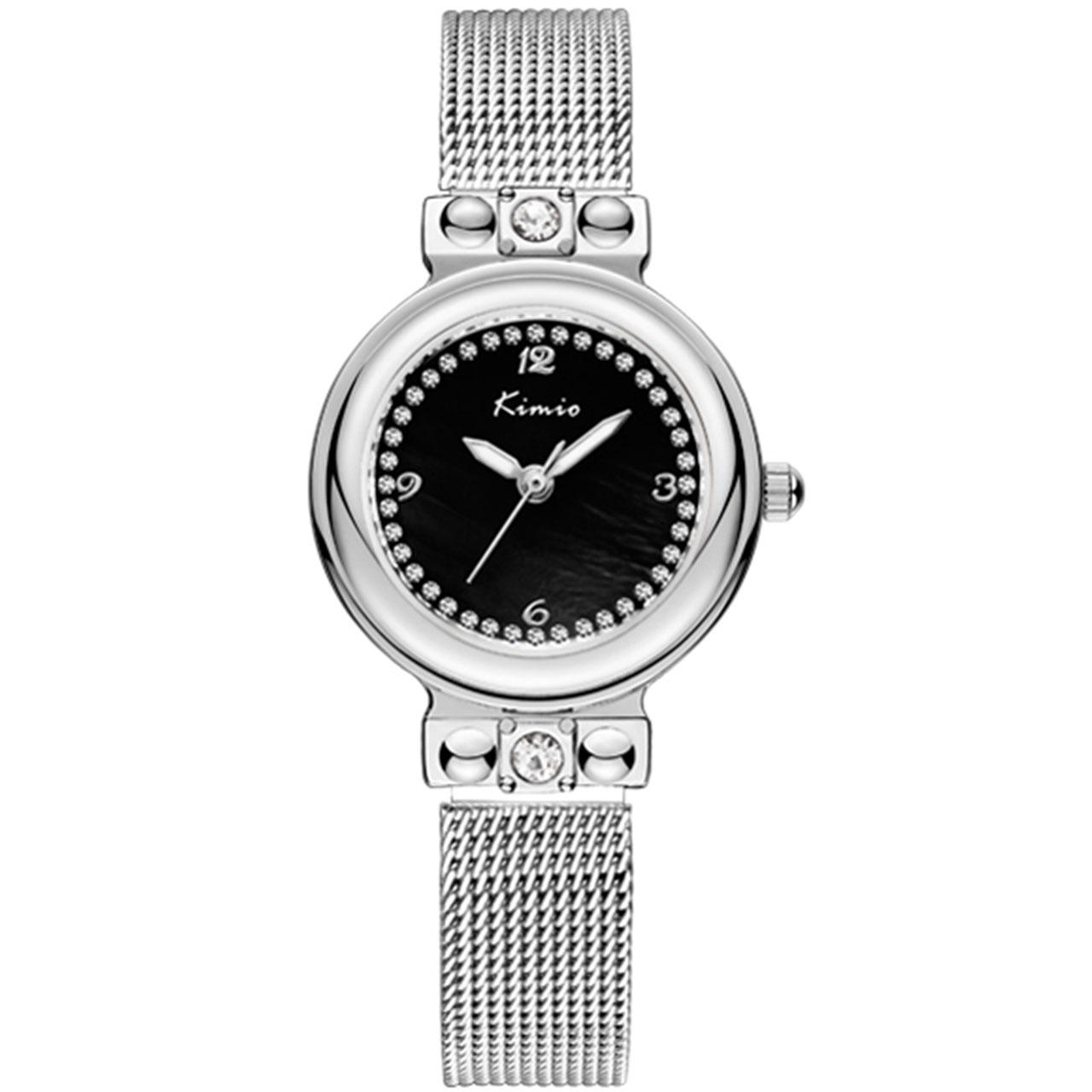 ساعت مچی عقربه ای زنانه کیمیو مدل K6148S-CZ1WWH