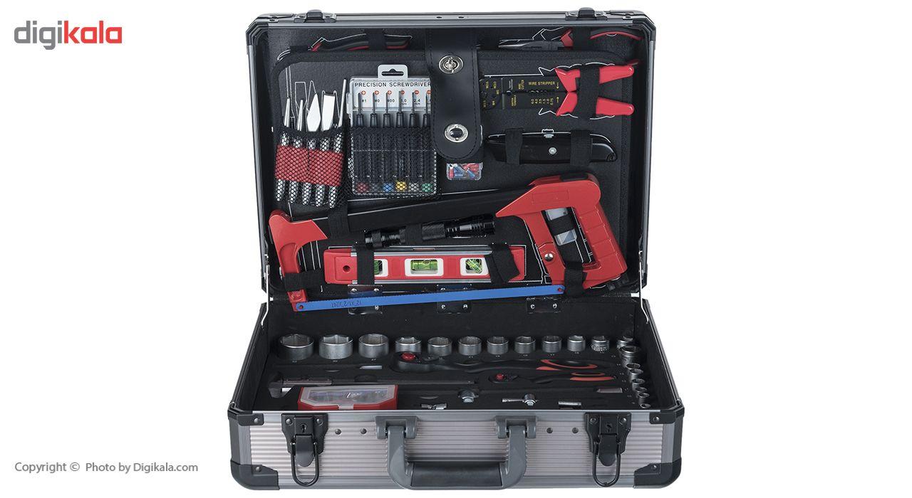 مجموعه 127 عددی ابزار جی تی تی مدل C127MAA main 1 5