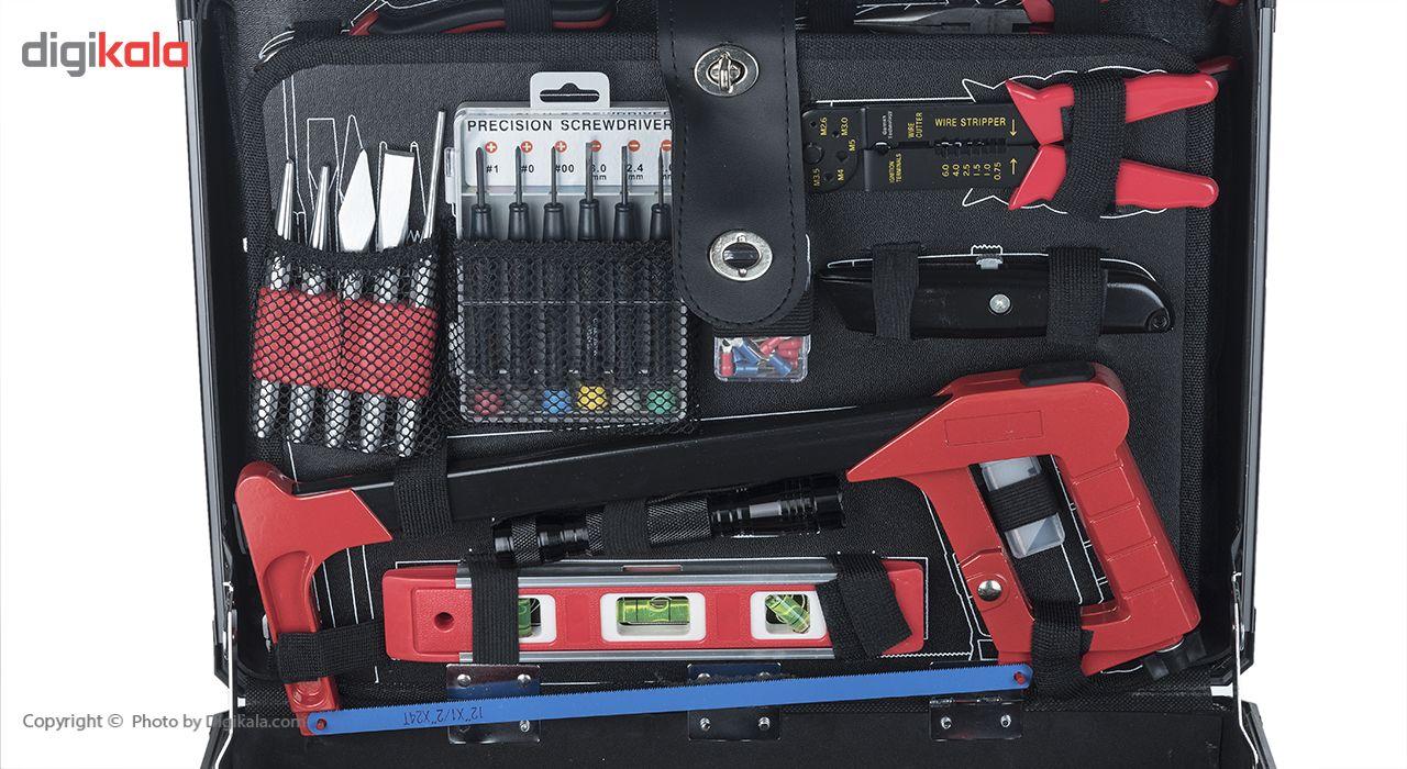 مجموعه 127 عددی ابزار جی تی تی مدل C127MAA main 1 6