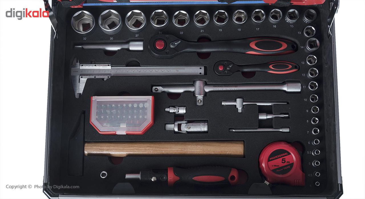 مجموعه 127 عددی ابزار جی تی تی مدل C127MAA main 1 7