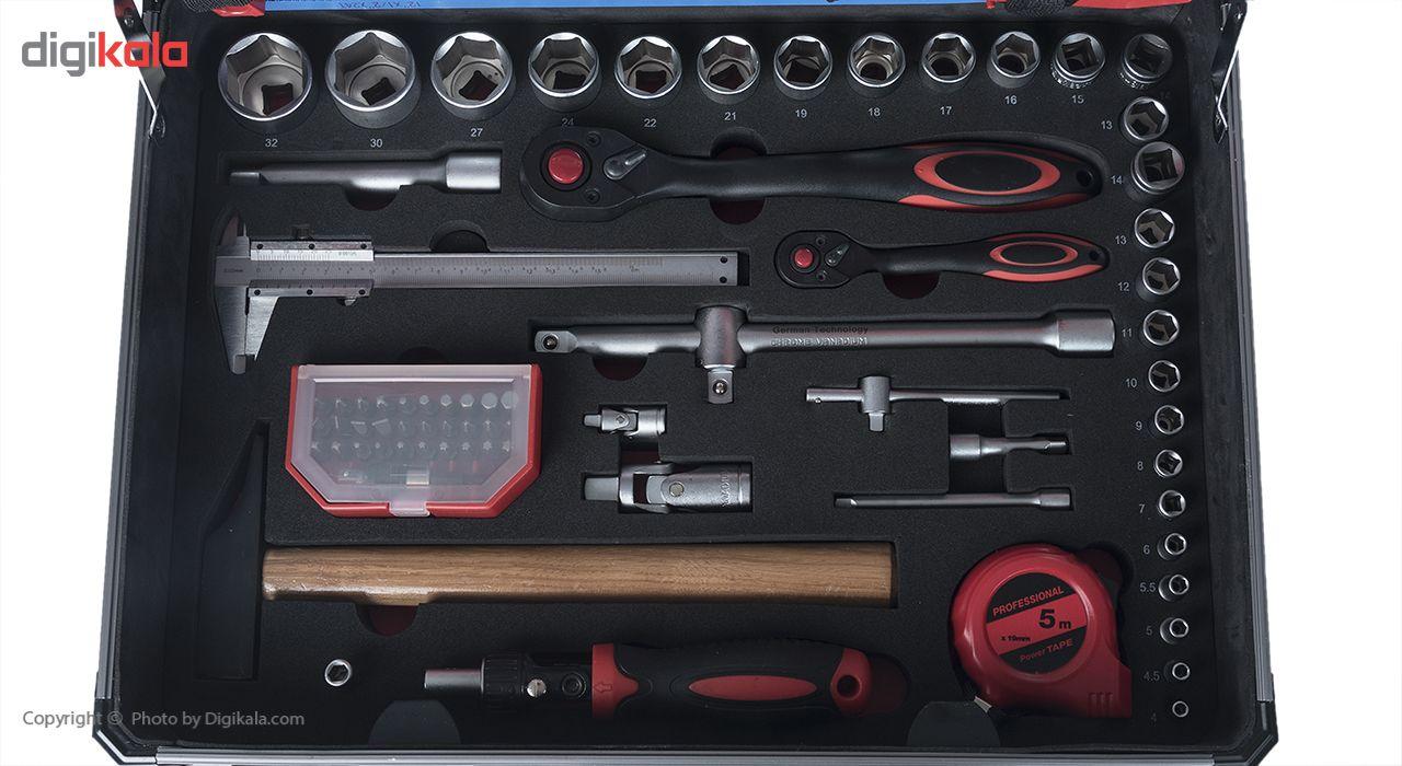 مجموعه 127 عددی ابزار جی تی تی مدل C127MAA main 1 8