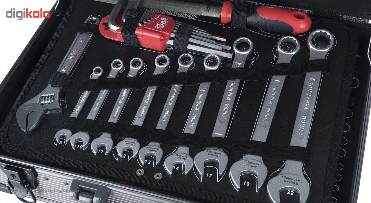 مجموعه 127 عددی ابزار جی تی تی مدل C127MAA main 1 13