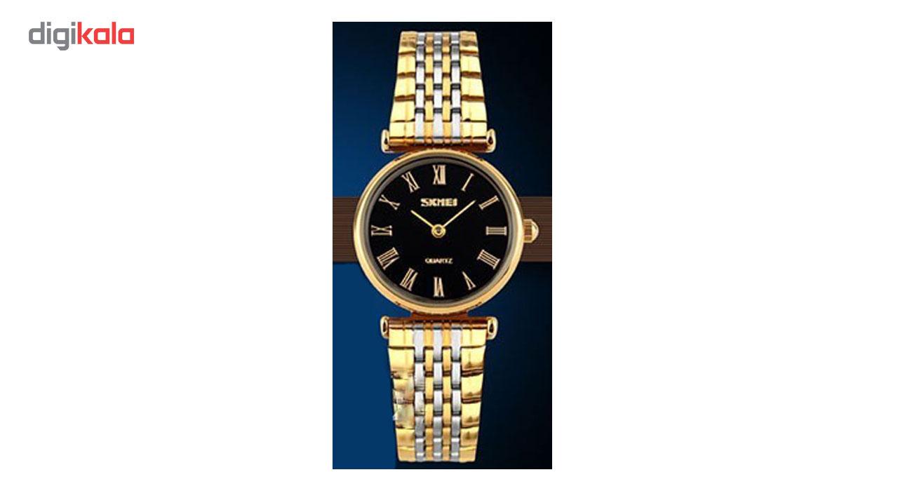 ساعت مچی عقربه ای زنانه اسکمی مدل No 9105              خرید (⭐️⭐️⭐️)