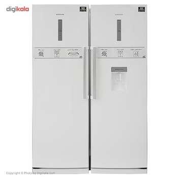 یخچال و فریزر دوقلوی سامسونگ مدل RR20SW-RZ20SW | Samsung RR20SW-RZ20SW Refrigerator