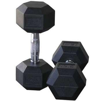 دمبل بدنسازی ششضلعی 12.5 کیلوگرمی - دو عددی
