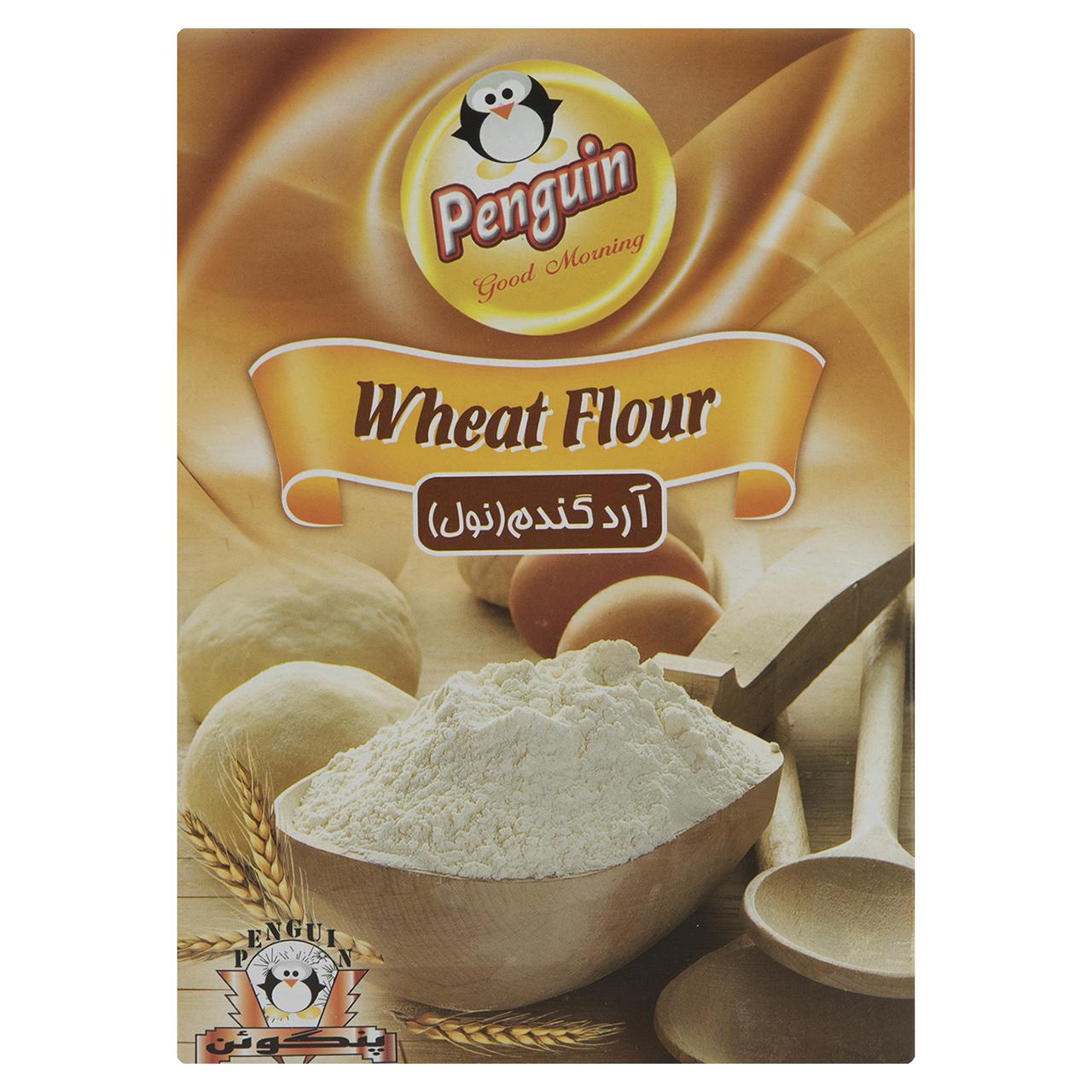 آرد گندم پنگوئن مقدار 300 گرم