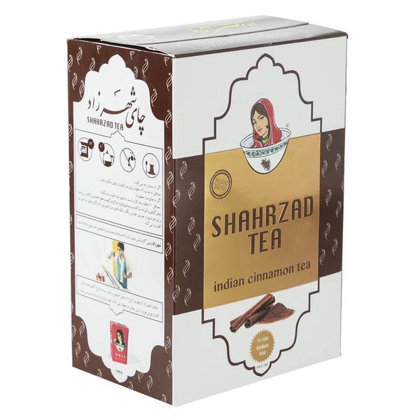 چای سیاه شهرزاد با طعم دارچین مقدار 500 گرم