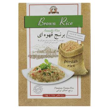 برنج قهوه ای پنگوئن مقدار 1 کیلوگرم
