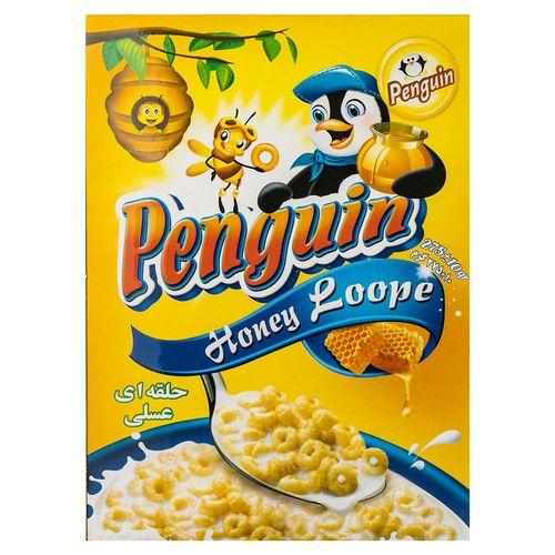 ذرت حلقه ای عسلی پنگوئن مقدار 275 گرم