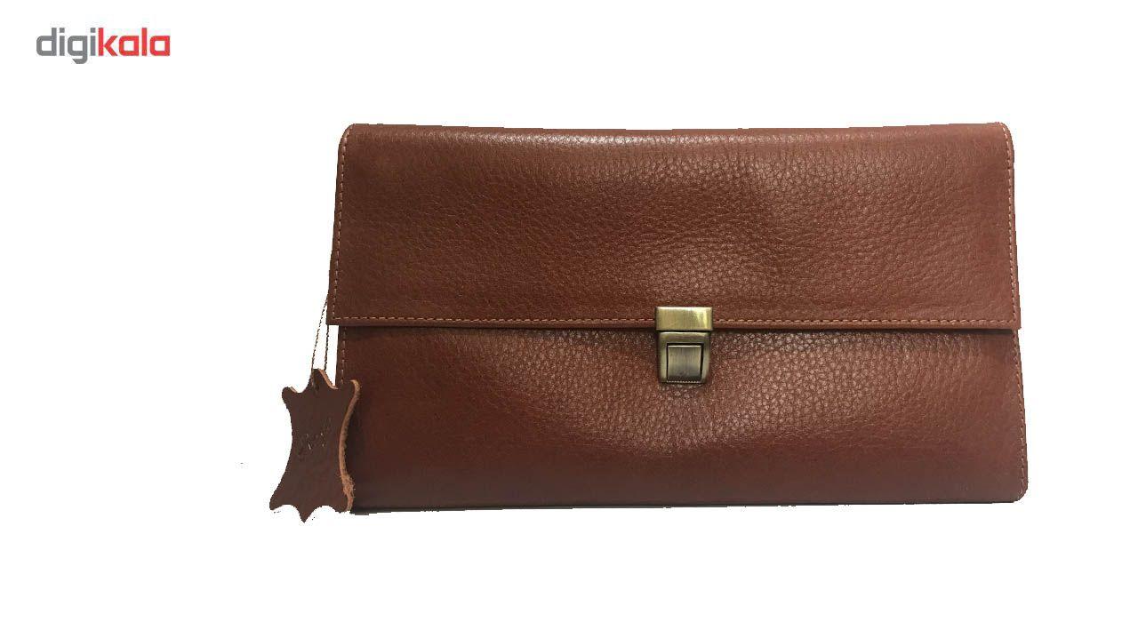 کیف دستی چرم رایا مدل Tanaz -  - 5