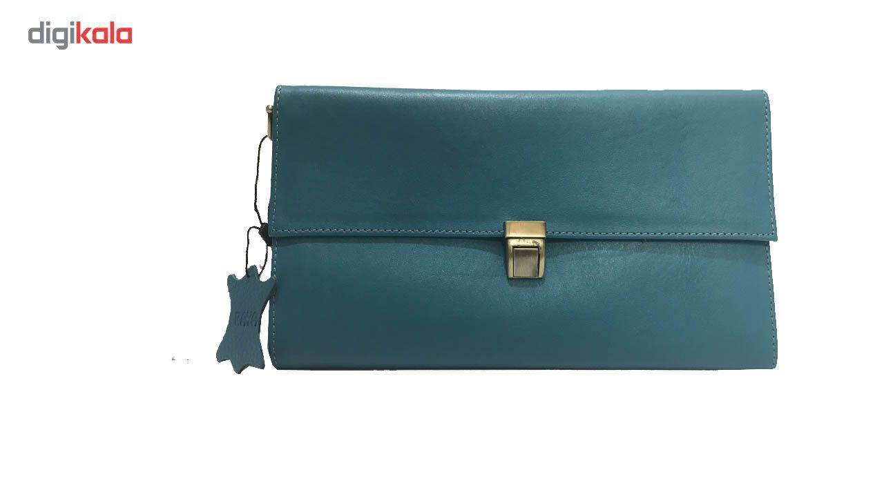کیف دستی چرم رایا مدل Tanaz -  - 6