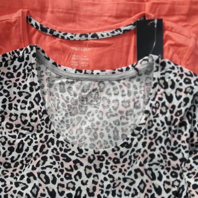 تیشرت زنانه اسمارا مدل 150as مجموعه 2 عددی