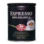 قوطی قهوه ساکوئلا مدل اسپرسو 250 گرمی