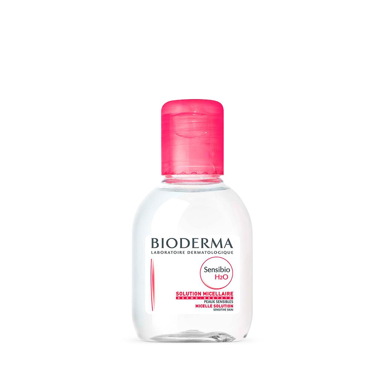 قیمت محلول پاک کننده آرایش بایودرما مدل Sensibio H2O حجم 100 میلی لیتر
