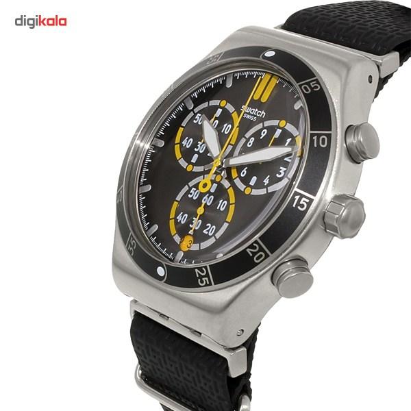 خرید ساعت مچی عقربه ای مردانه سواچ مدل YVS422