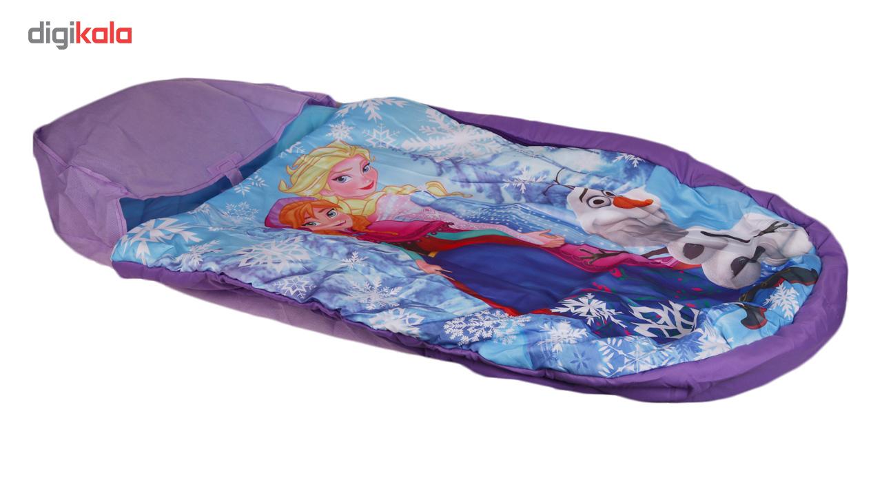 کیسه خواب بادی کودک همراه با تلمبه مدل فروزن