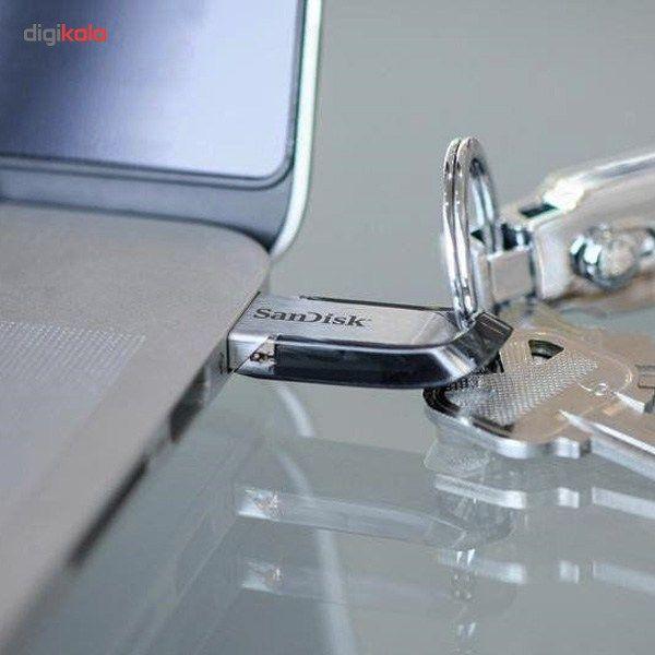 فلش مموری سن دیسک مدل Ultra Flair CZ73 ظرفیت 64 گیگابایت main 1 6