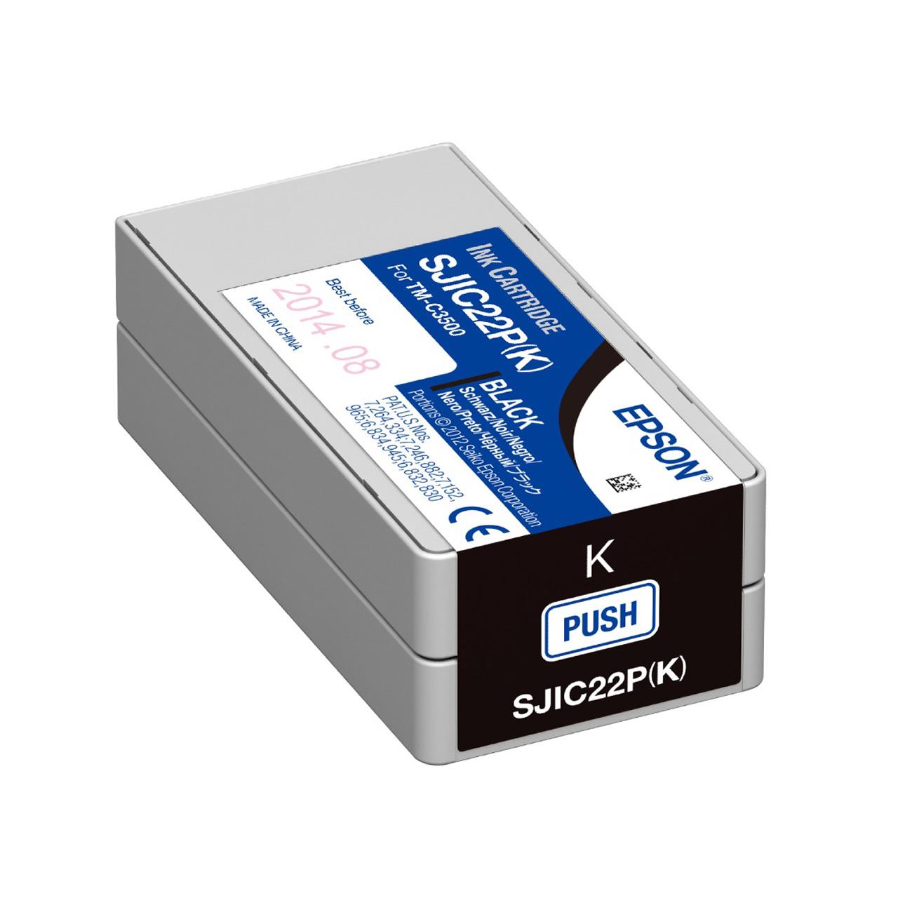 قیمت                      کارتریج مشکی اپسون مدل ColorWorks C3500 SJIC22P(K)