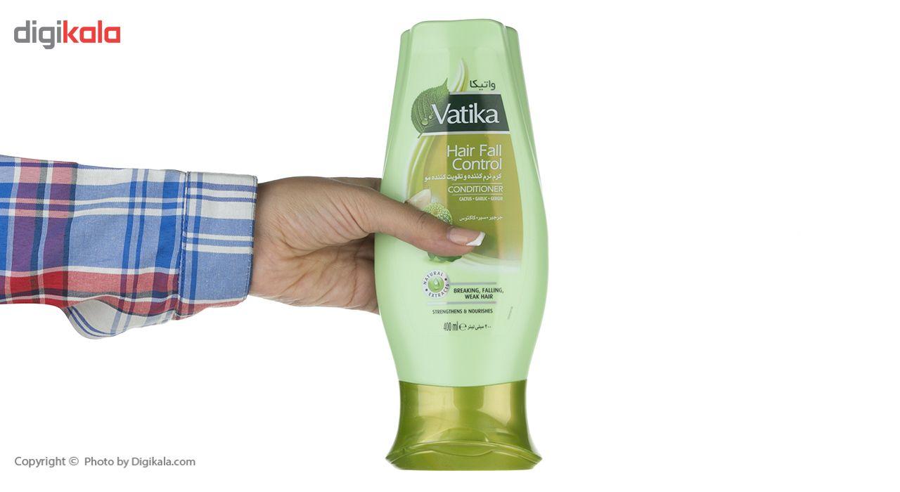 نرم کننده و تقویت کننده مو واتیکا مدل Garlic حجم 400 میلی لیتر main 1 3