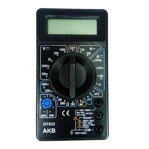 مولتی متر دیجیتال مدل DT832