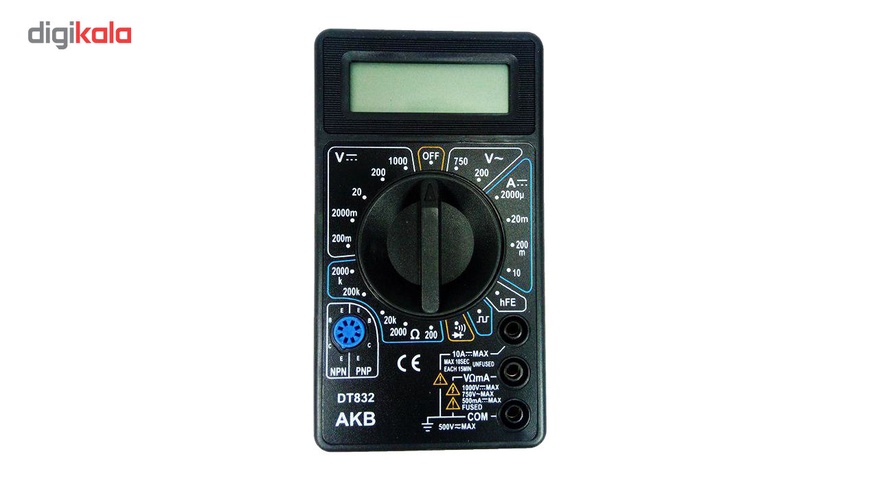 مولتی متر دیجیتال مدل DT832 main 1 1