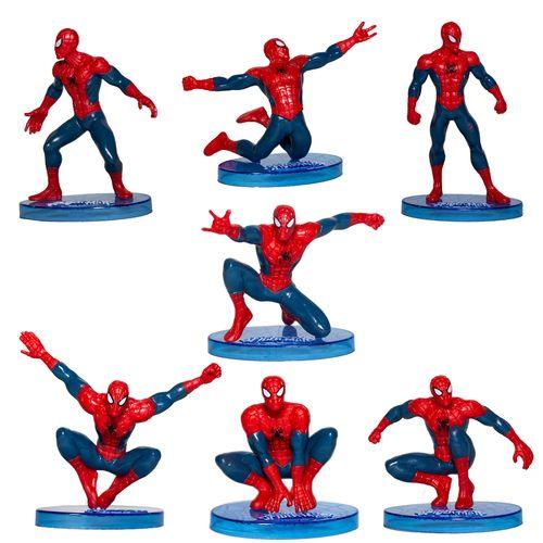 مجموعه فیگور مدل Spiderman بسته 7 عددی