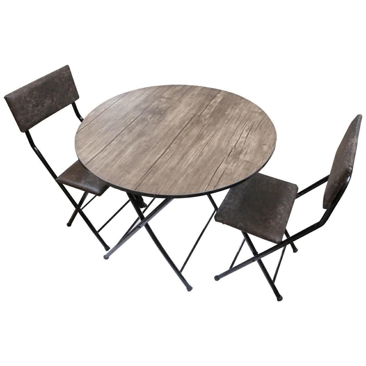 میز ناهار خوری تاشو سپهر یاس مدل 112