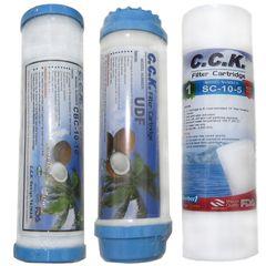فیلتر دستگاه تصفیه آب خانگی C.C.K بسته سه عددی