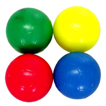 توپ فوتبال دستی بسته 4 عددی سایز 3