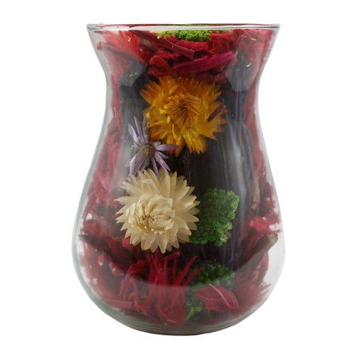 گلدان دکوری معطر گلباران سبز مدل GMJ