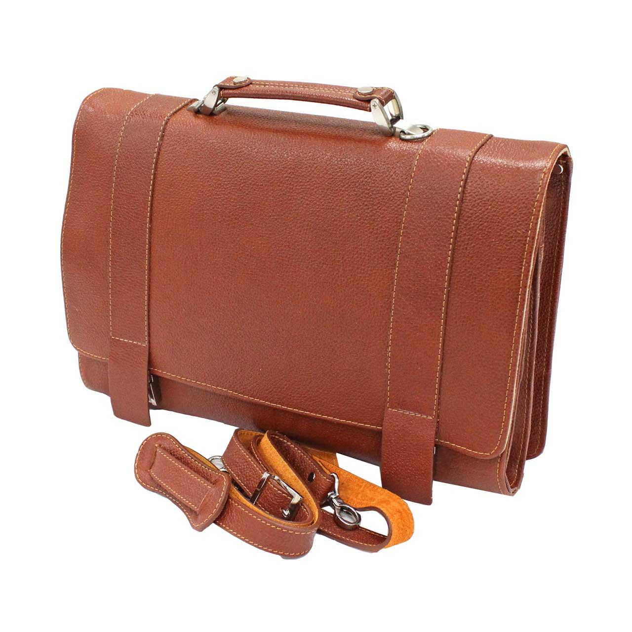 کیف اداری چرم طبیعی آروین چرم مدل AR-409