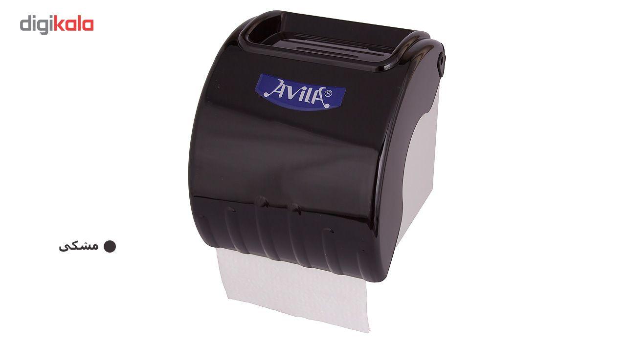 جا دستمال کاغذی آویلا مدل کد 02 سایز کوچک main 1 9
