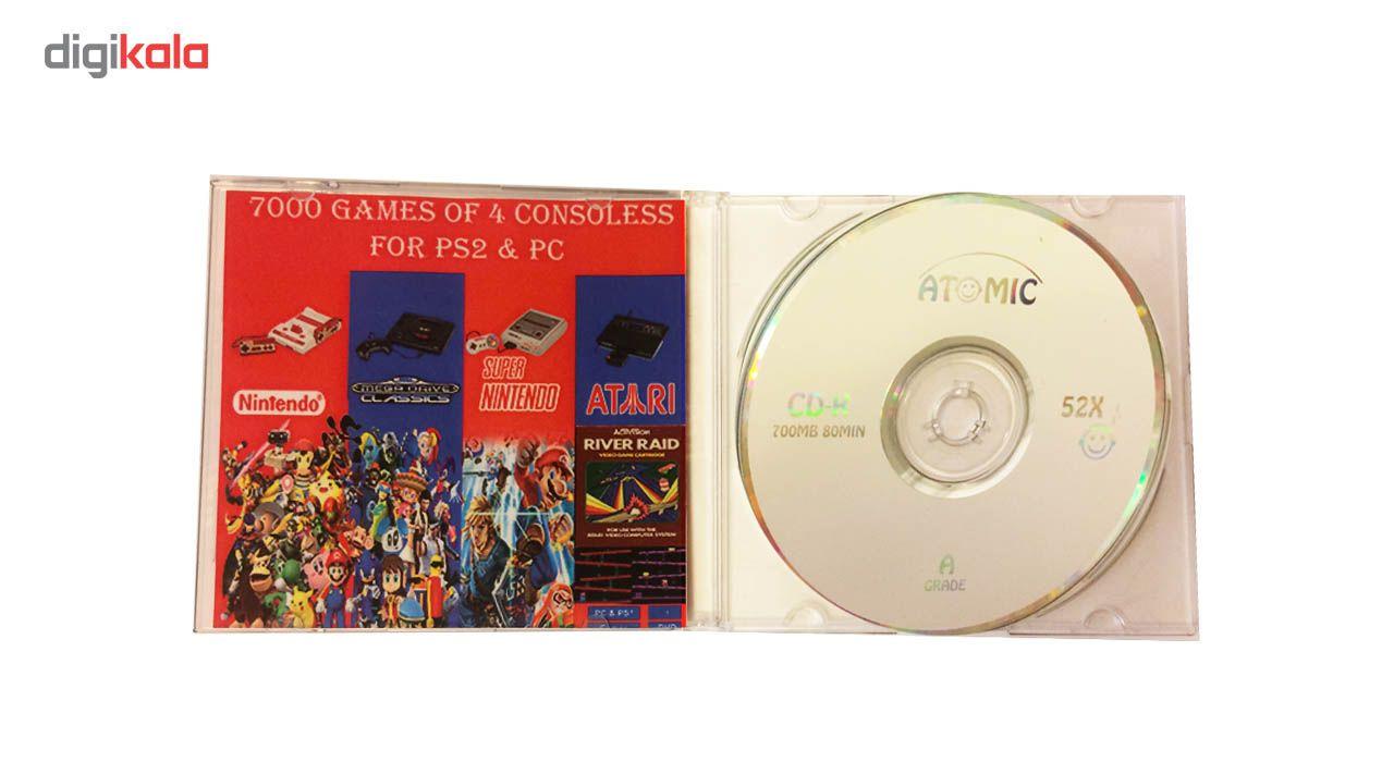مجموعه 7000 بازی 4 کنسول قدیمی بر روی کامپیوتر و پلی استیشن 2 main 1 1