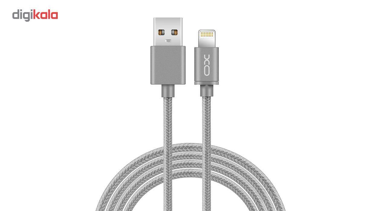 کابل تبدیل USB به لایتنینگ ایکس او مدل NB1 طول 1 متر main 1 3