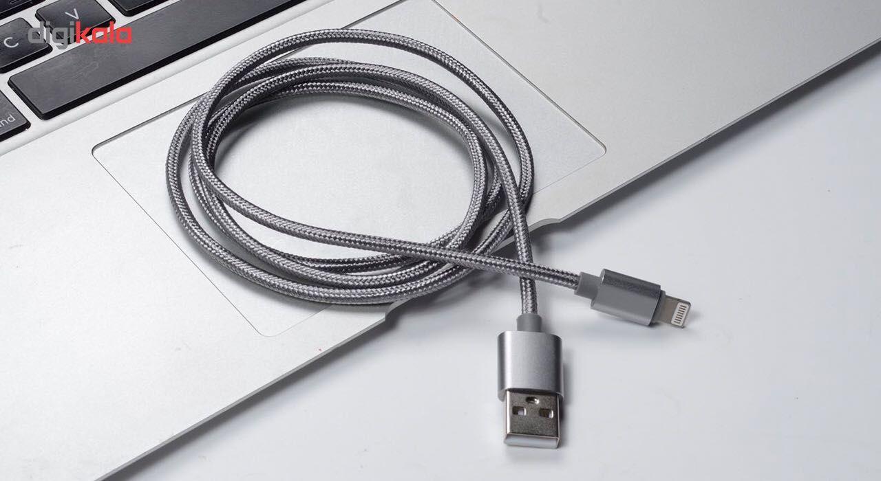 کابل تبدیل USB به لایتنینگ ایکس او مدل NB1 طول 1 متر main 1 4