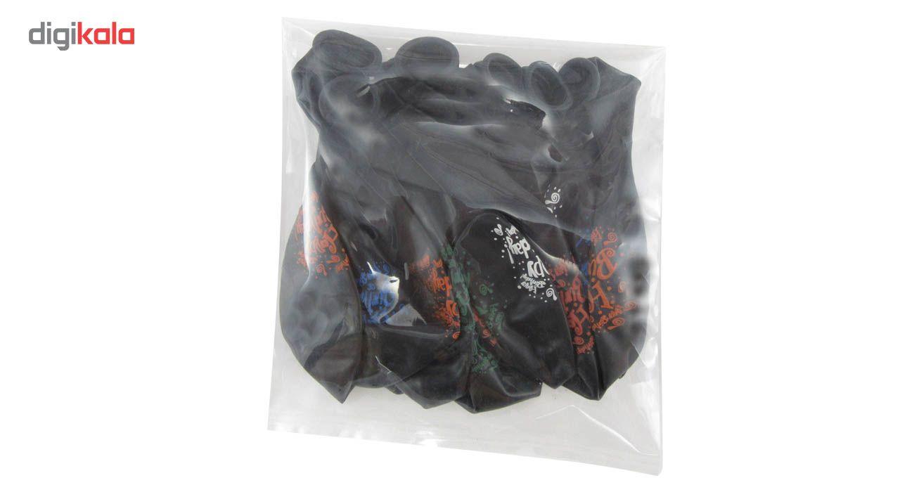 پک بادکنک کوه شاپ مدل تولد بسته 10 عددی سایز 120 main 1 2