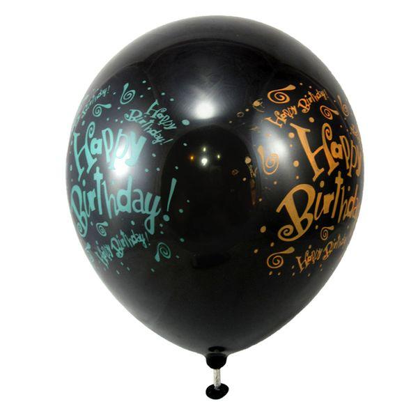 پک بادکنک کوه شاپ مدل تولد بسته 10 عددی سایز 120