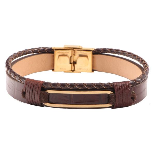 دستبند طلا 18 عیار سپیده گالری مدل SBL0025
