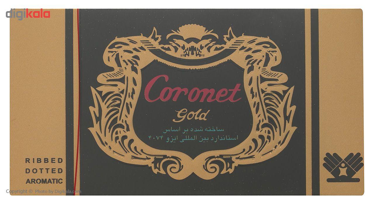 کاندوم خاردار کرونت مدل Golden بسته 12 عددی main 1 1