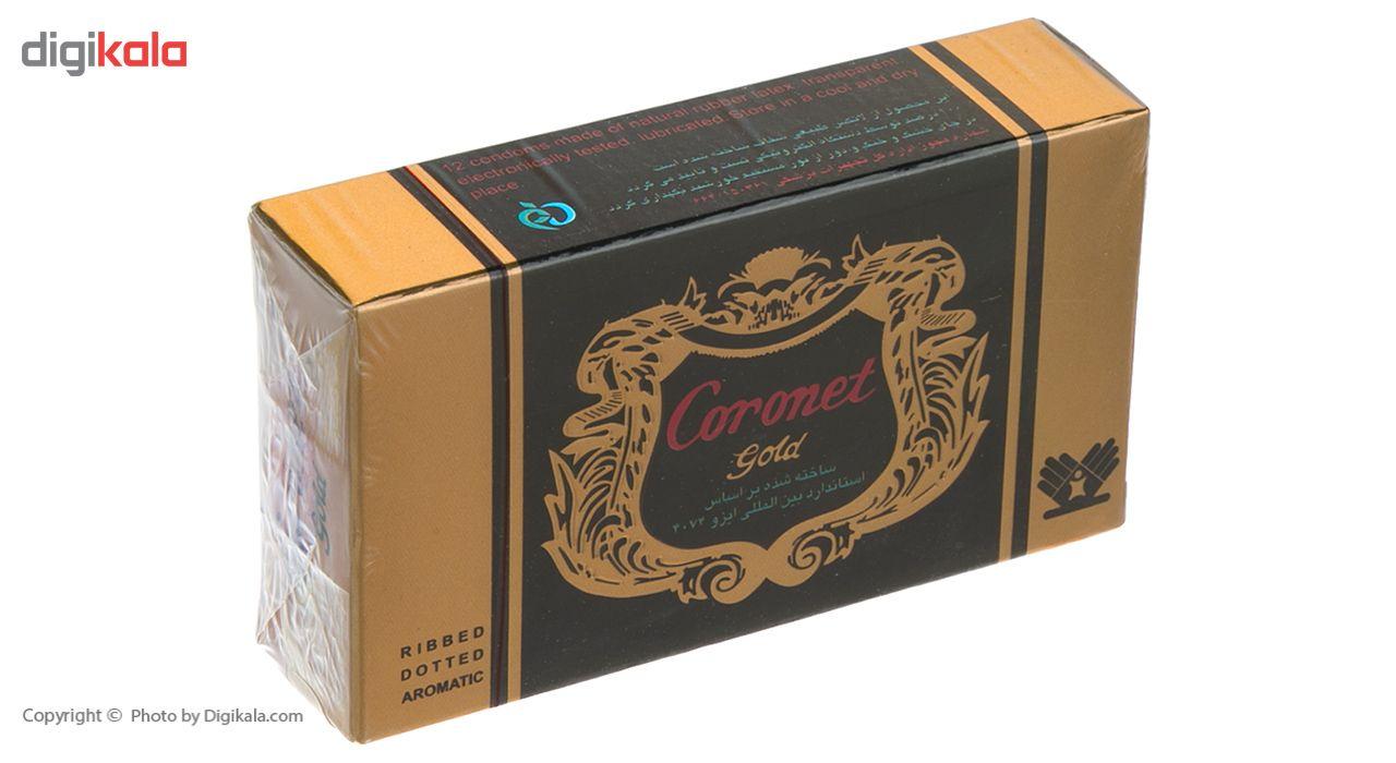 کاندوم خاردار کرونت مدل Golden بسته 12 عددی main 1 2