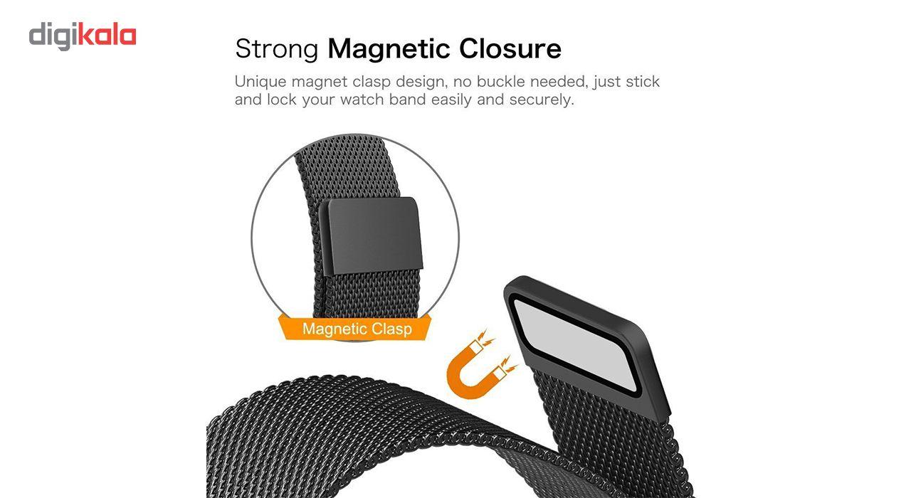 بند فلزی مدل Millanese مناسب برای ساعت هوشمند اپل 38 میلی متری main 1 5