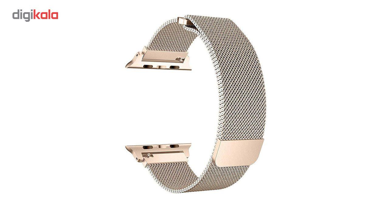 بند فلزی مدل Millanese مناسب برای ساعت هوشمند اپل 38 میلی متری main 1 8