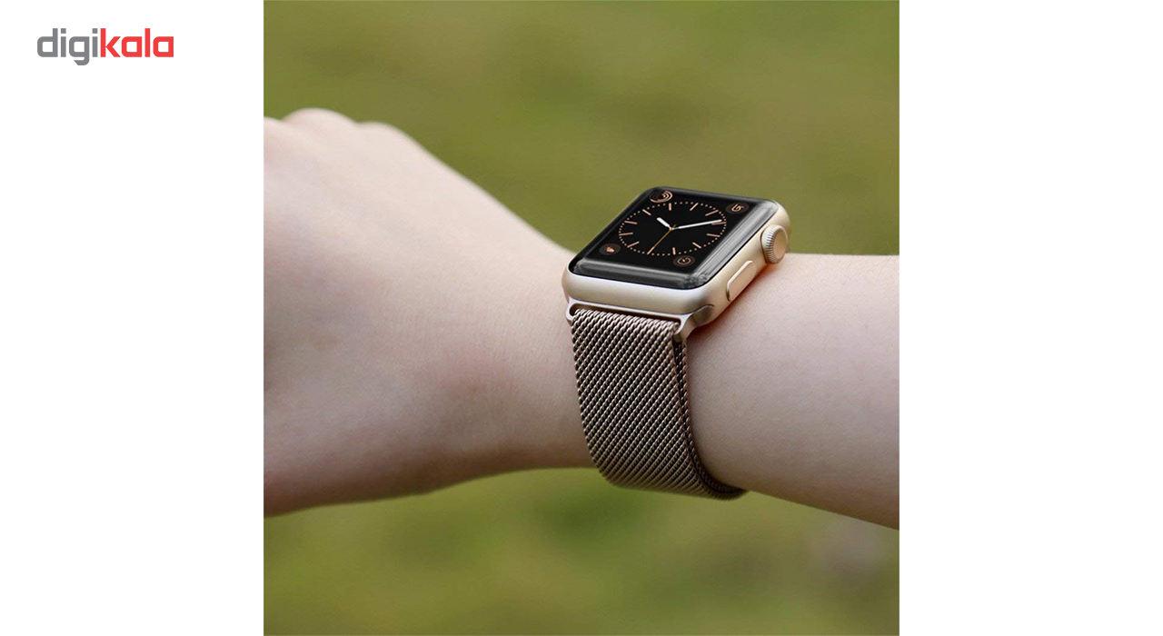 بند فلزی مدل Millanese مناسب برای ساعت هوشمند اپل 38 میلی متری main 1 9