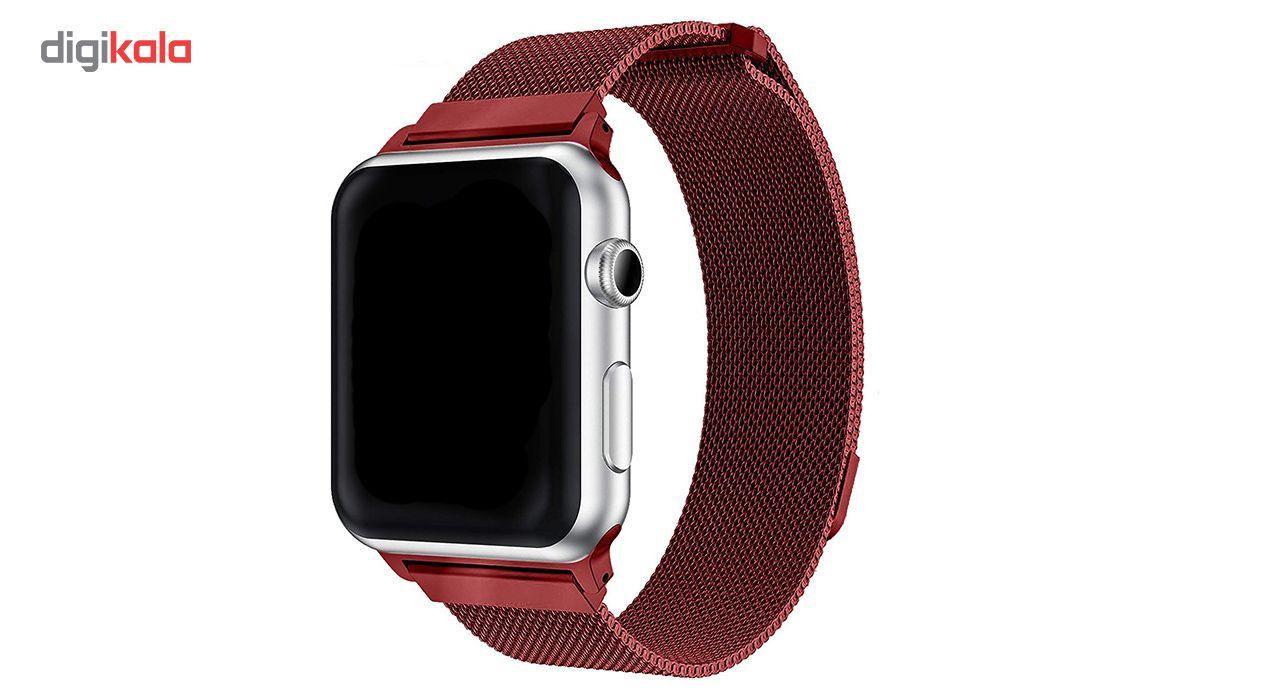بند فلزی مدل Millanese مناسب برای ساعت هوشمند اپل 38 میلی متری main 1 10