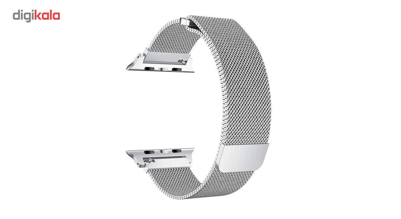 بند فلزی مدل Millanese مناسب برای ساعت هوشمند اپل 38 میلی متری main 1 14