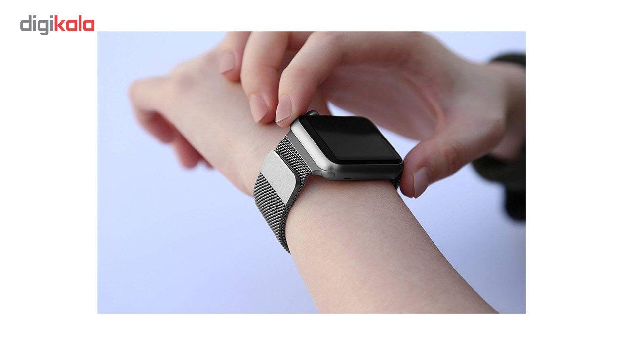 بند فلزی مدل Millanese مناسب برای ساعت هوشمند اپل 38 میلی متری main 1 15